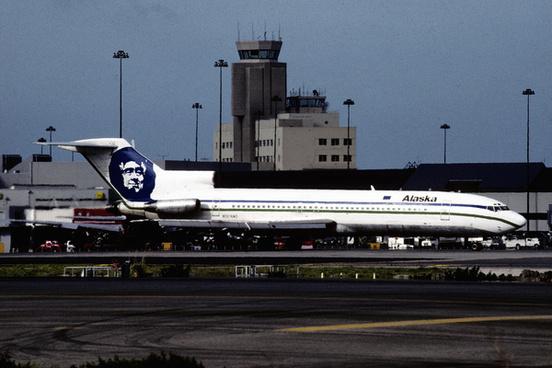 alaska airlines boeing 727 247 n324as75620264