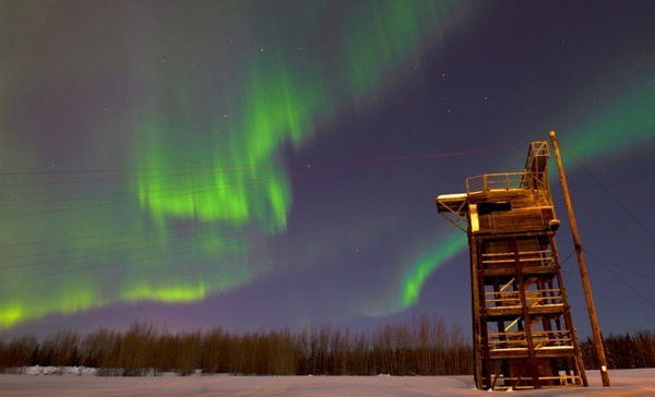 alaska aurora borealis northern lights