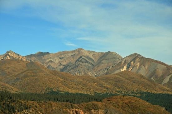 alaska mountain landscape