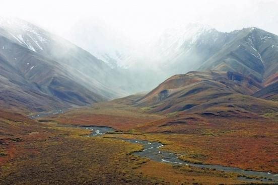 alaska mountains tundra