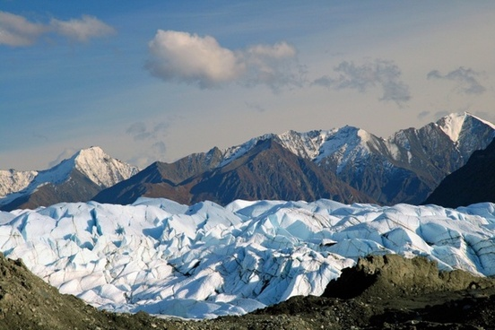 alaska wilderness glacier