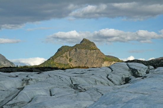 alaska wilderness glacier