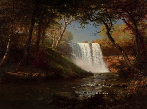 albert bierstadt art painting