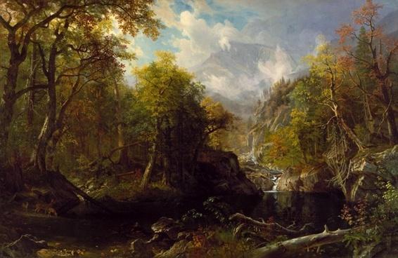 albert bierstadt landscape art