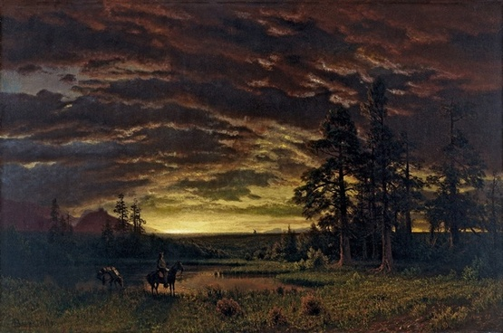 albert bierstadt painting art