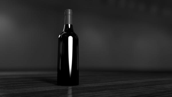 alcohol bar beach beverage black and white bottle