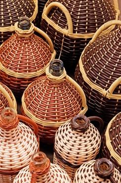 alcohol basket beverage