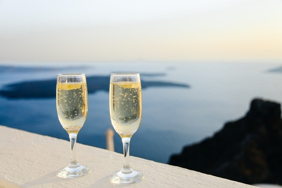 alcohol beach beverage blur bottle champagne dining