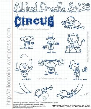 Alfred Doodle Set 28