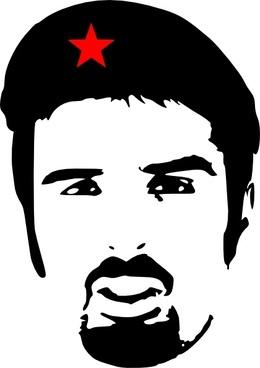 Ali Esbati As Che Guevara clip art