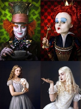 alice in wonderland characters pictures
