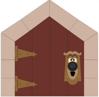 alice in wonderland doorknob door