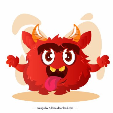 alien monster icon cute cartoon character sketch