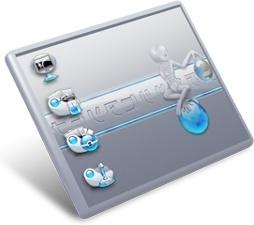 AlienAqua desktop