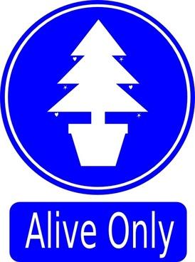 Alive Only clip art