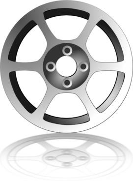 Alloy Wheel clip art