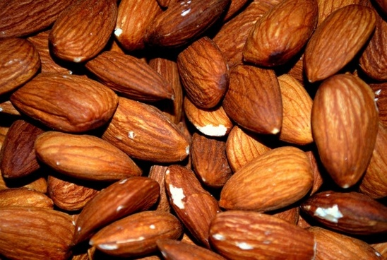 almond almonds roasted