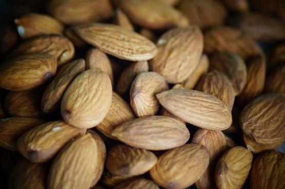 almond nuts food