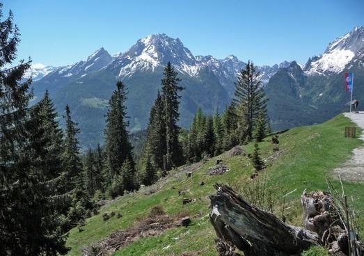 alpine berchtesgaden massif
