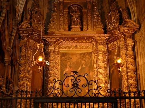 altar church gold