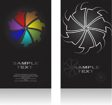 business background arrows layout sketch dark design
