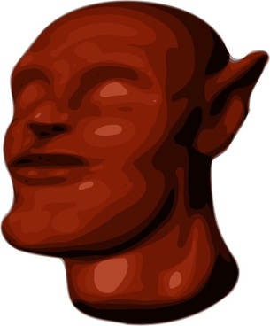 AM Alien Head 3