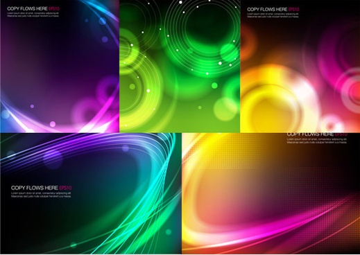 ambilight background vector