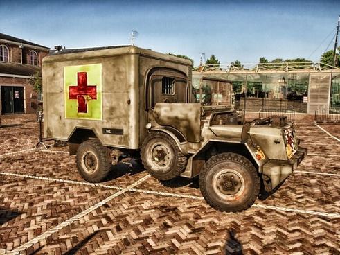 ambulance old classic