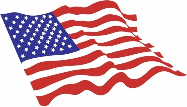 American Flag Vector Art Free Download 216349
