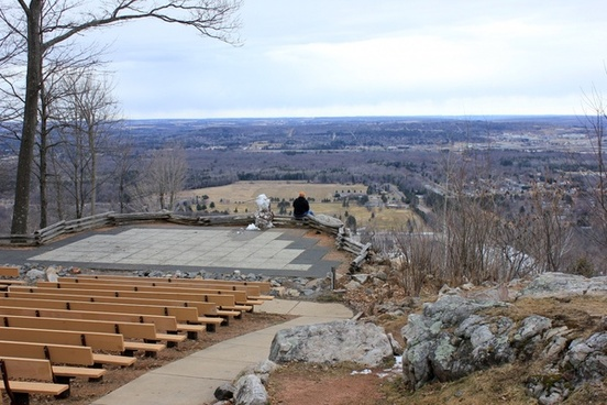 amphitheater at rib mountain state park wisconsin