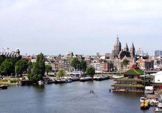 amsterdam city buildings