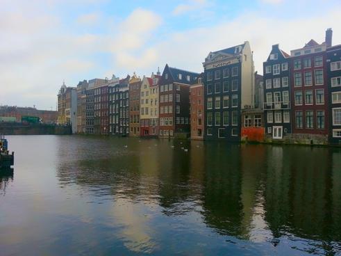 amsterdam downtown netherlands