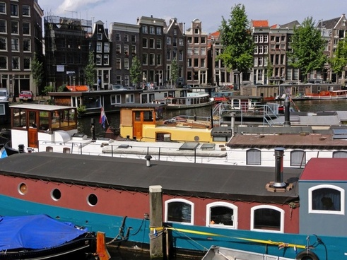 amsterdam the netherlands boats