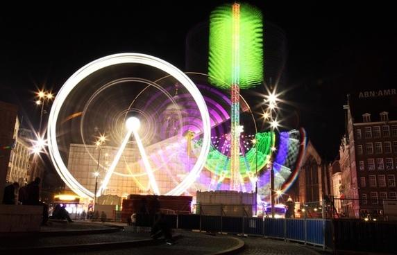 amusement circle color