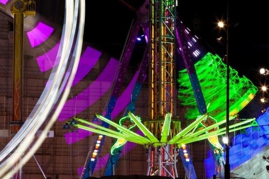 amusement color colorful