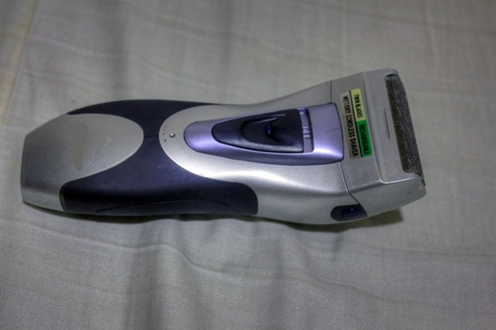 an electric shaver