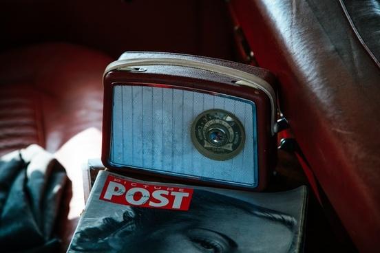 analog antique automobile car chrome classic design