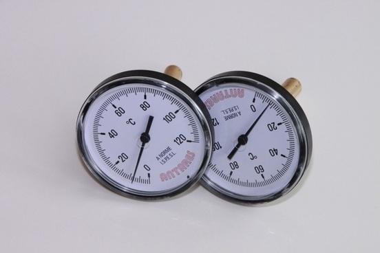 analog bimetal dial