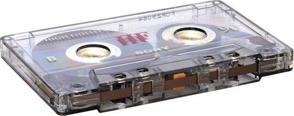 analogue audio cassette