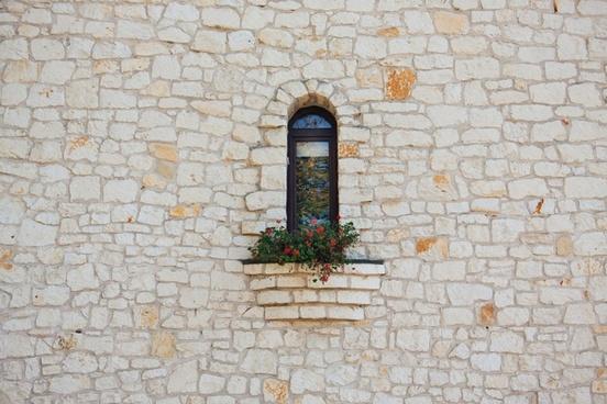 ancient antique architecture art brick cement dirty