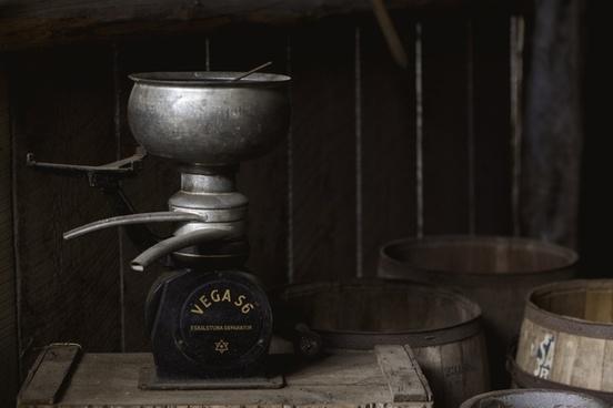 ancient antique barrel beverage container distillery