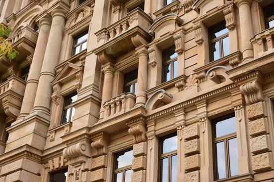 ancient apartment architecture building city