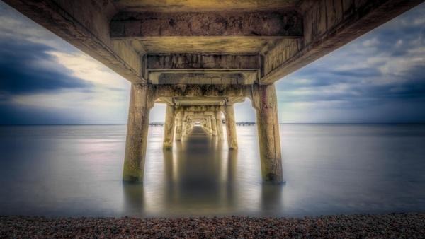 ancient arch architecture bridge building column