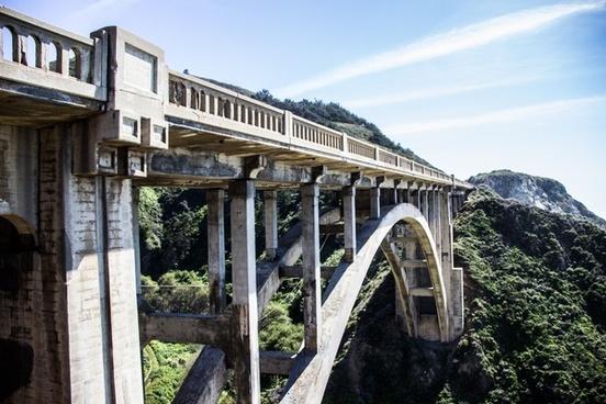ancient architecture bridge building city concrete