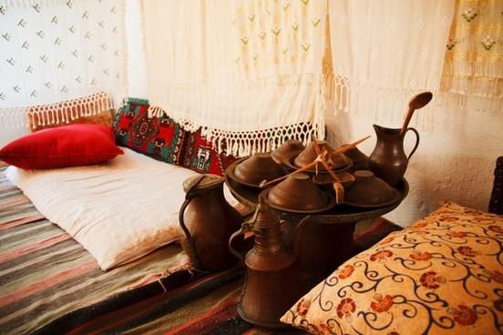 ancient carpet pillow