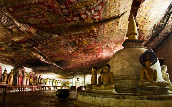 ancient rock temple