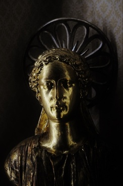 angel bust of the catholic church