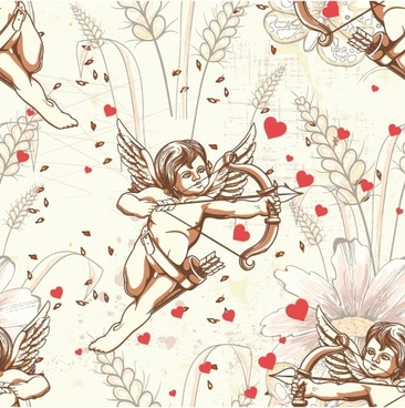 angel illustrator 01 vector
