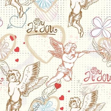 angel illustrator 02 vector