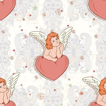 angel illustrator 03 vector